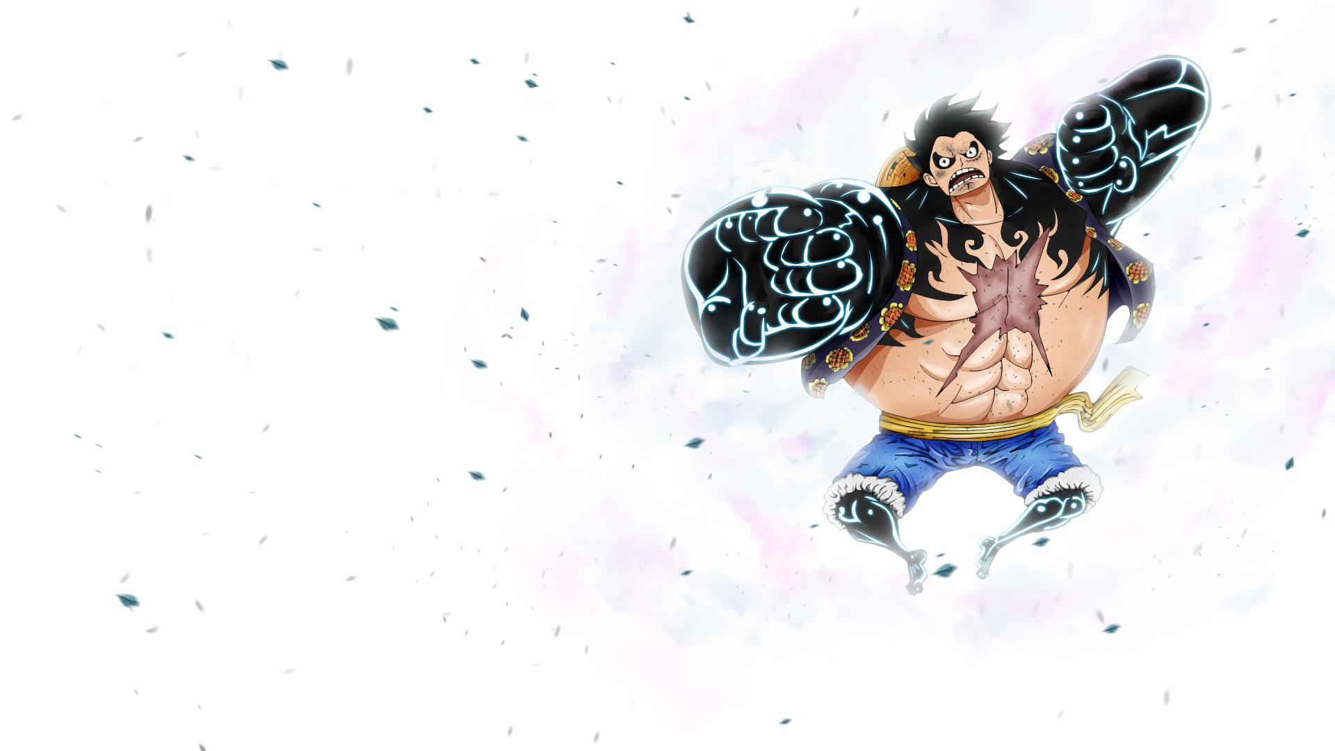 Luffy Gear 4 Full HD W... One Piece Wallpaper Luffy Gear Fourth