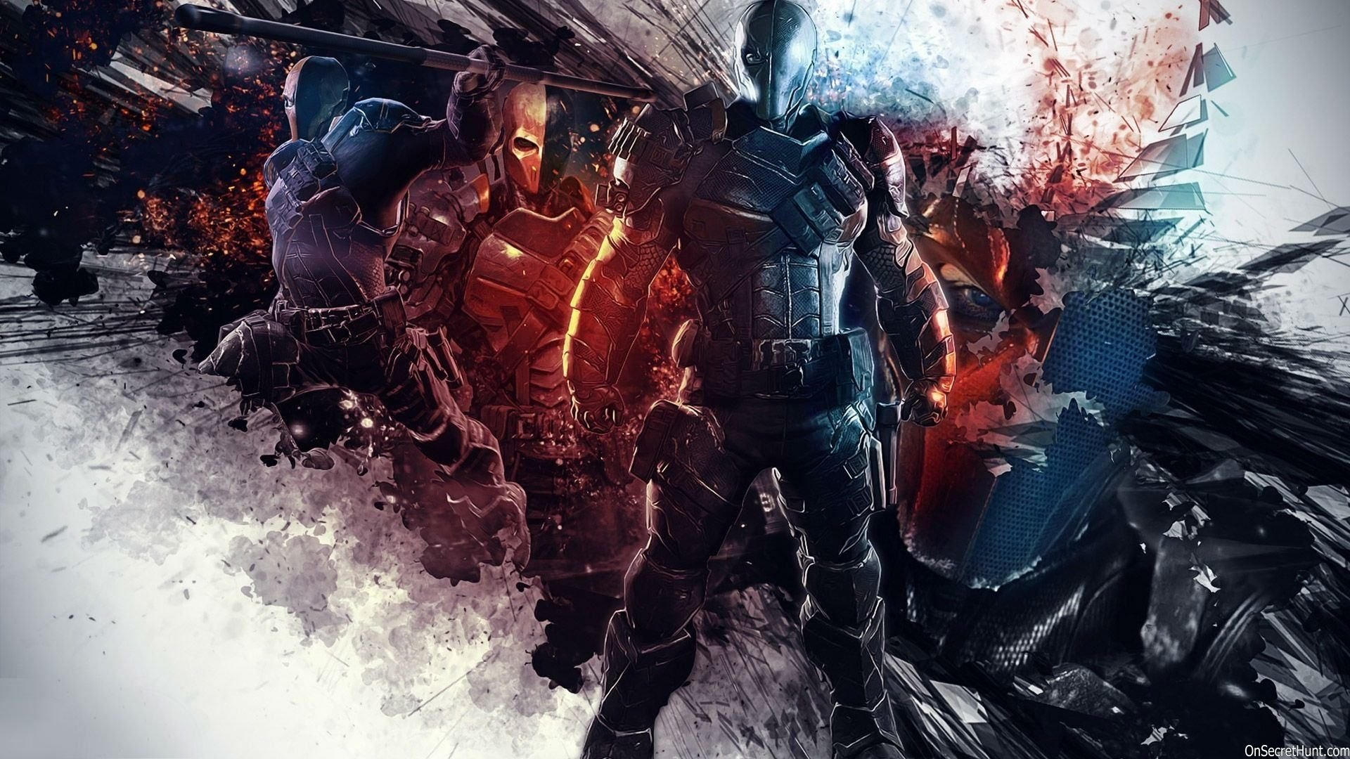 Deathstroke HD Wallpaper