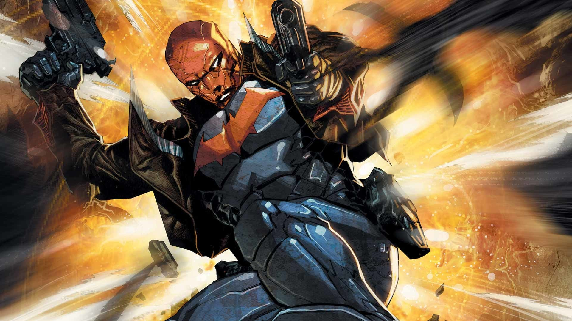red hood and the outlaws full hd wallpaper and background