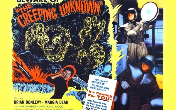 Movie The Creeping Unknown HD Wallpaper | Background Image