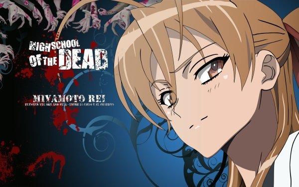 Anime Highschool Of The Dead Rei Miyamoto HD Wallpaper | Background Image