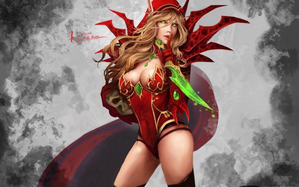 Video Game World Of Warcraft Warcraft Valeera Sanguinar HD Wallpaper   Background Image
