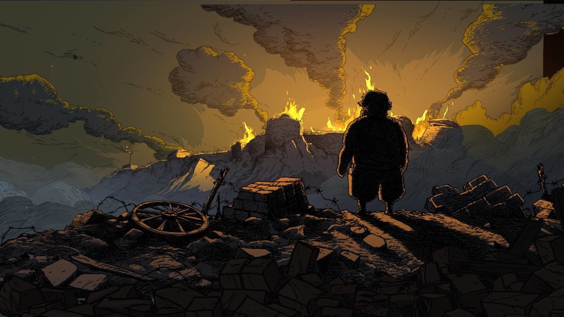 valiant hearts: the great war full hd wallpaper and background image