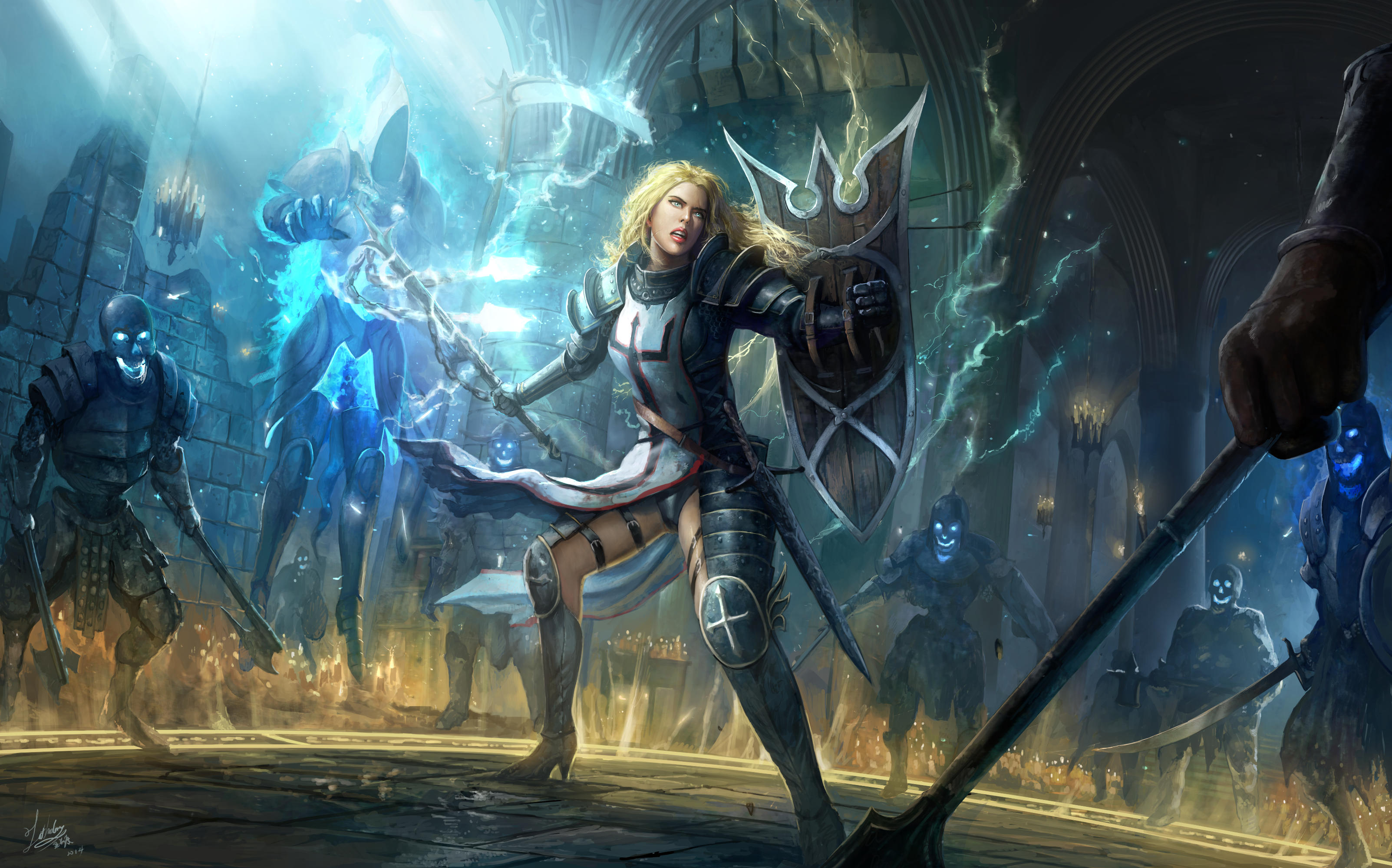 Diablo 3 Crusader Wallpaper 1920x1080 Diablo III: Reaper Of ...