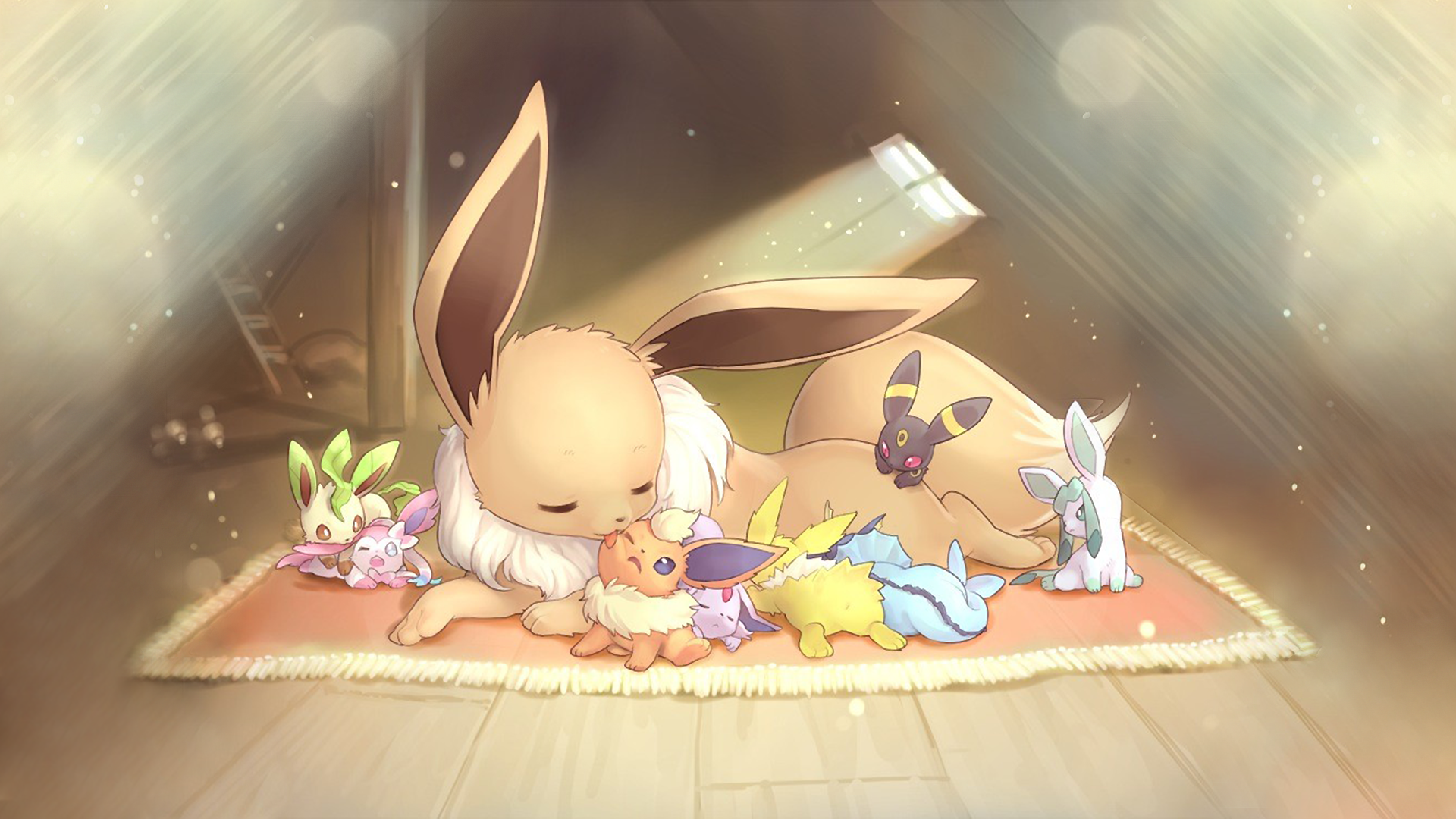 82 Eeveelutions HD Wallpapers