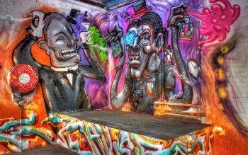 4 Street Art HD Wallpapers