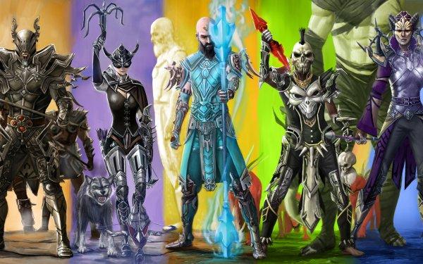 Video Game Diablo III Diablo Demon Hunter Witch Doctor Wizard Monk Barbarian HD Wallpaper | Background Image