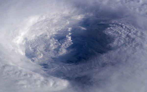 Earth From Space Ocean Hurricane HD Wallpaper   Background Image