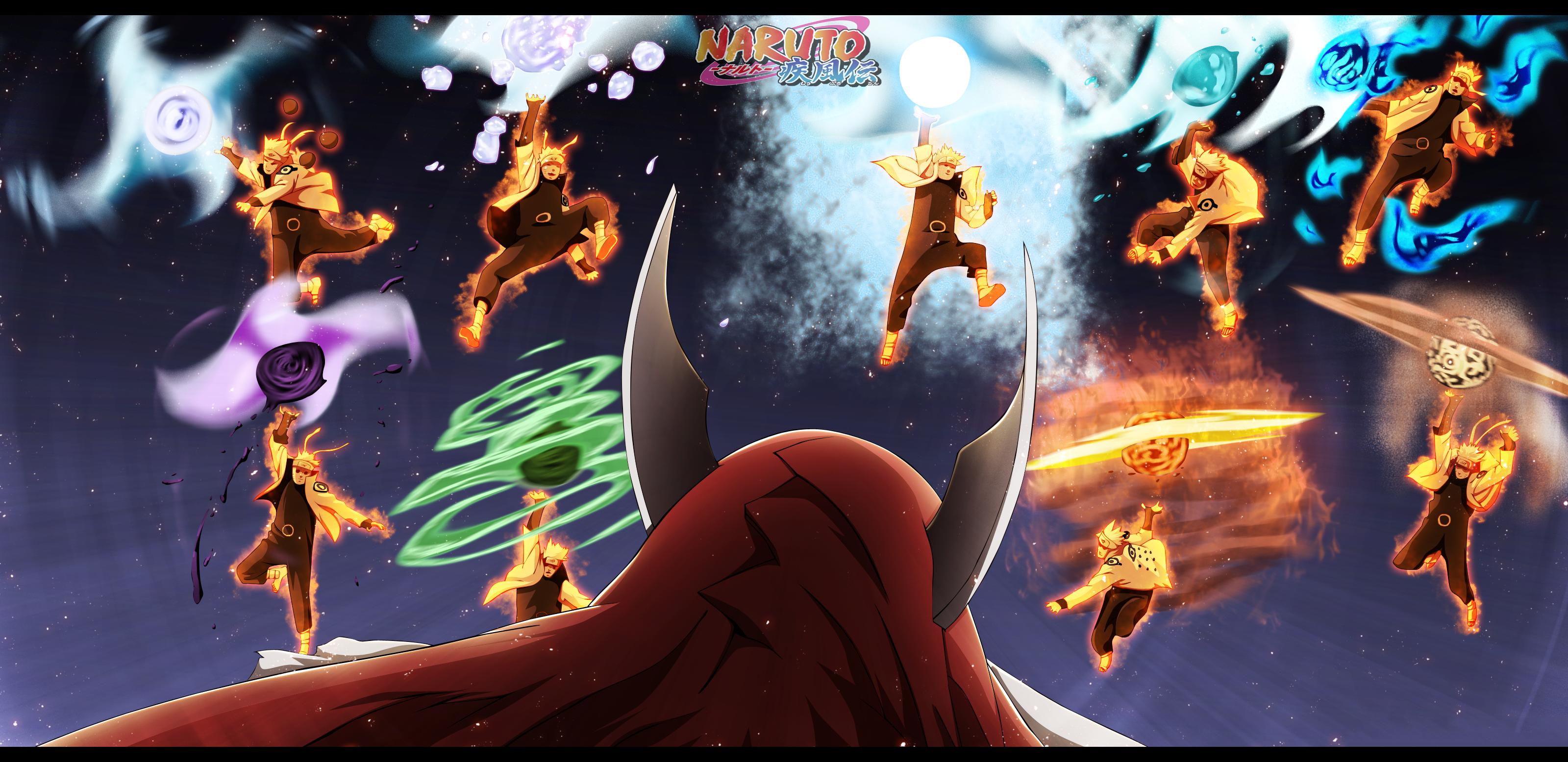 Naruto Vs Son Goku Yonbi Full HD Wallpaper And Background Image