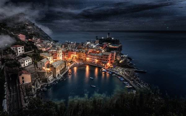 Man Made Liguria Towns Italy HD Wallpaper | Background Image