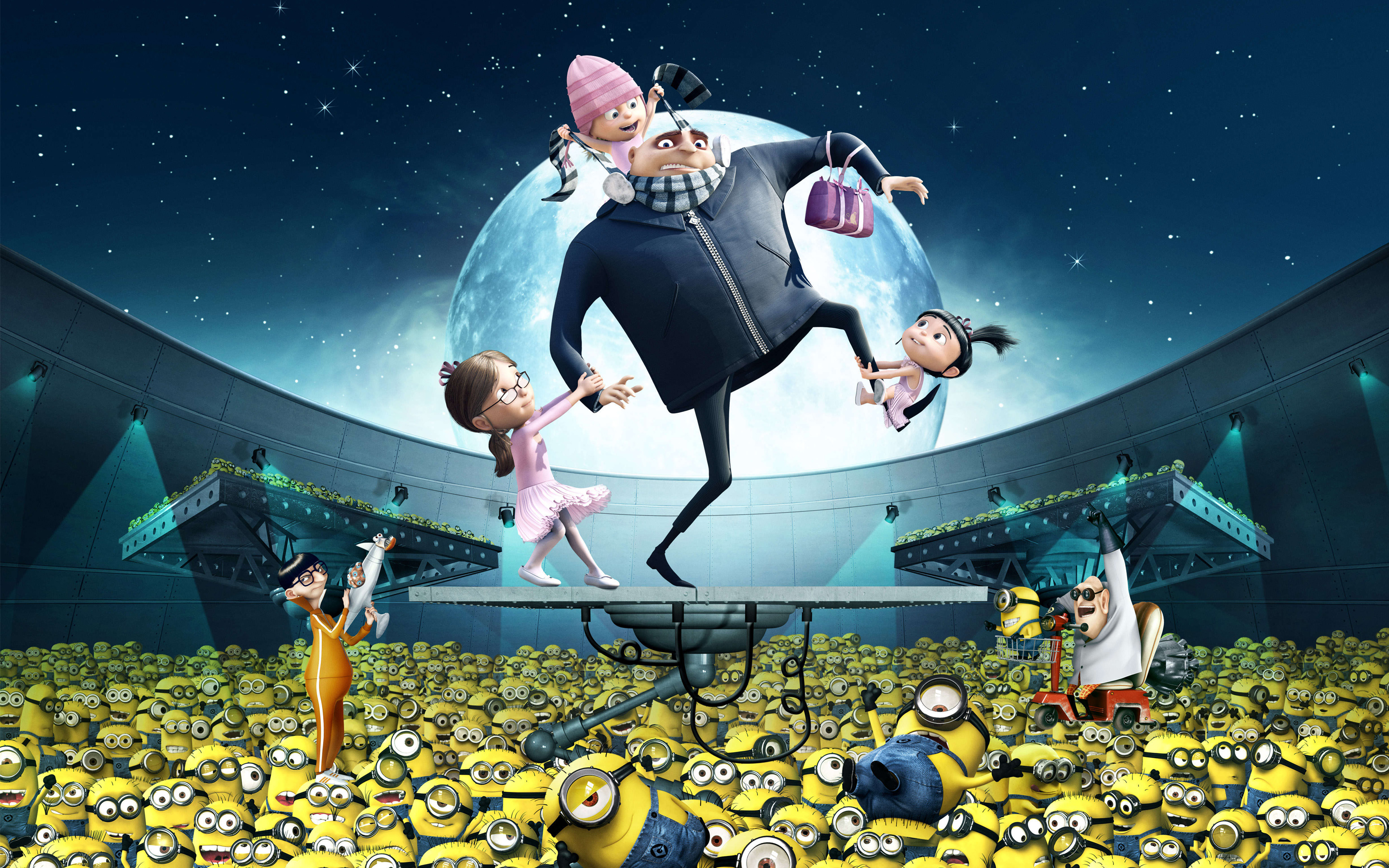HD Wallpaper | Background Image ID:615707. 2880x1800 Movie Despicable Me