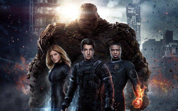 Film Fantastic Four (2015) Thing Invisible Woman Mister Fantastic Human Torch Reed Richards Susan Storm Johnny Storm Ben Grimm Fond d'écran HD | Image
