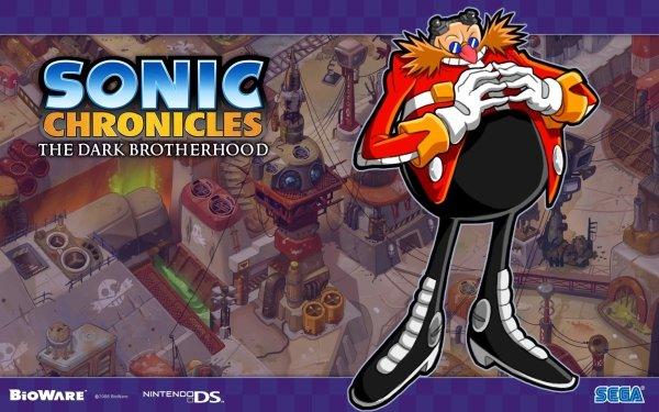 Video Game Sonic Chronicles: The Dark Brotherhood Sonic Doctor Eggman HD Wallpaper   Background Image