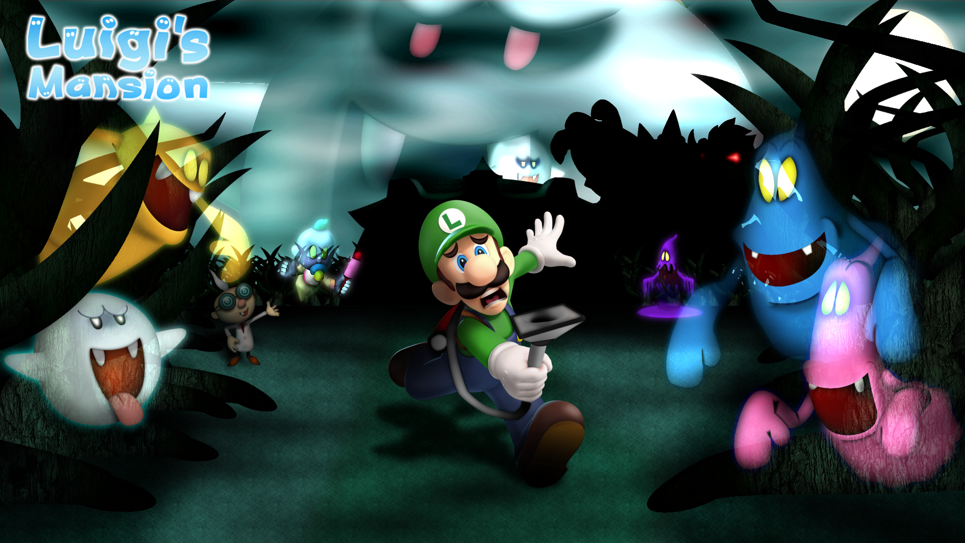 Luigis Mansion Full HD Wallpaper And Background Image