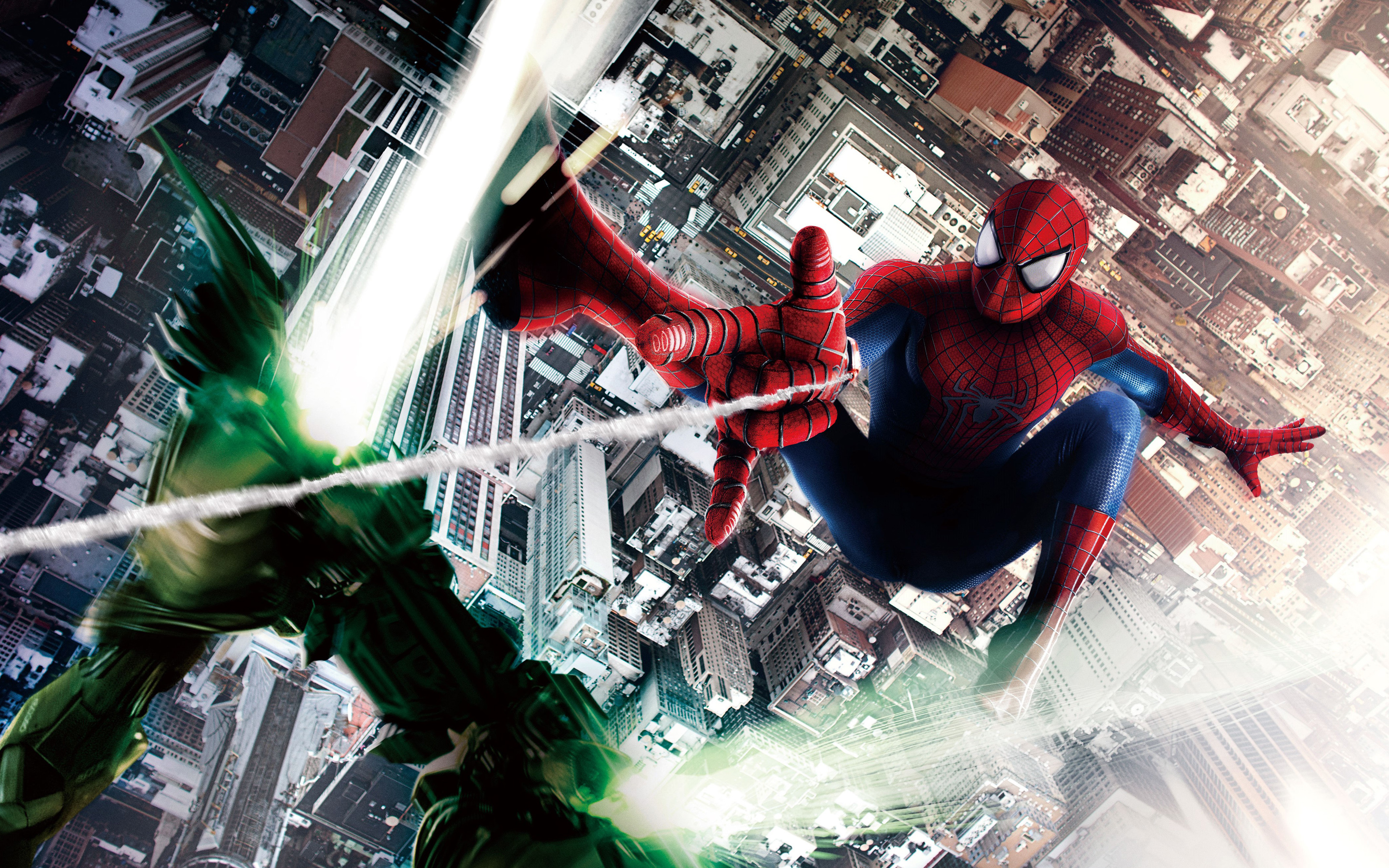 The Amazing Spider Man 2 Hd Wallpaper Background Image 2880x1800