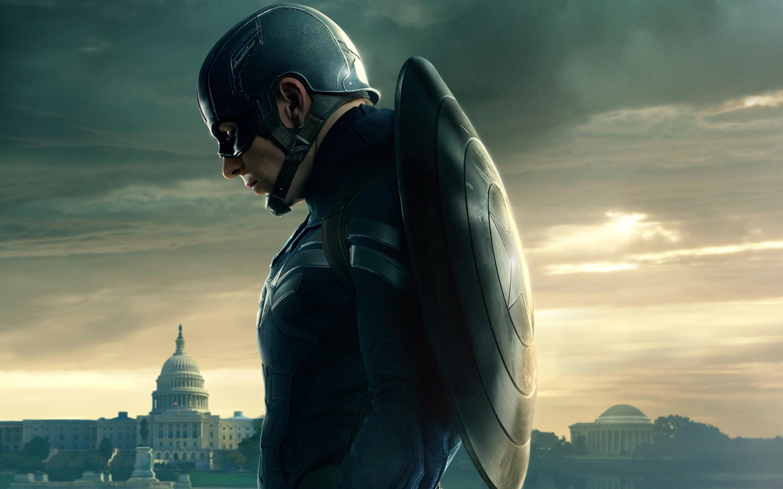 Papel De Parede Do Capitao America: Capitão América 2: O Soldado Invernal Papel De Parede HD
