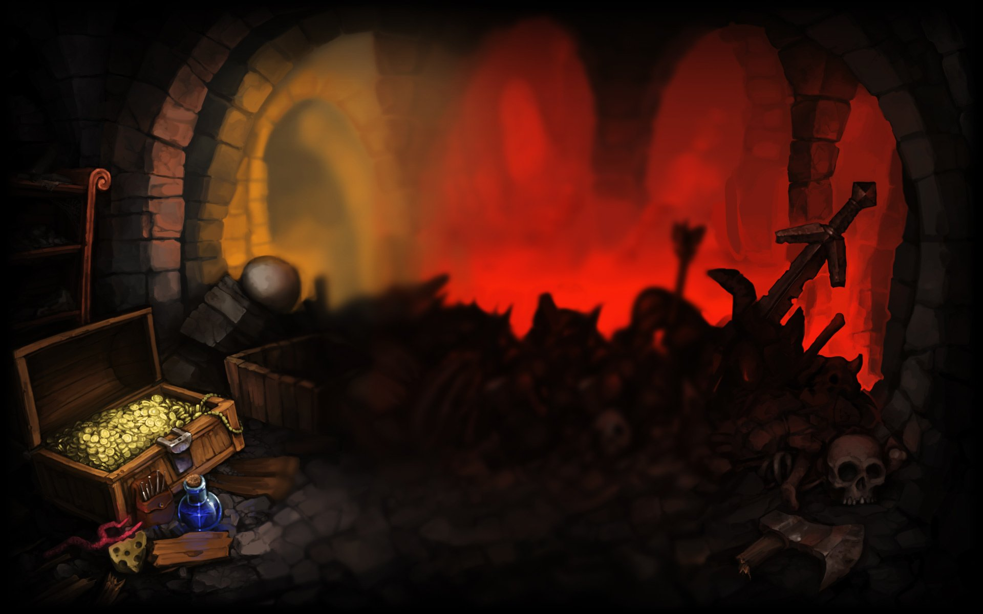 Dungeons Of Dredmor Full HD Wallpaper And Background Image