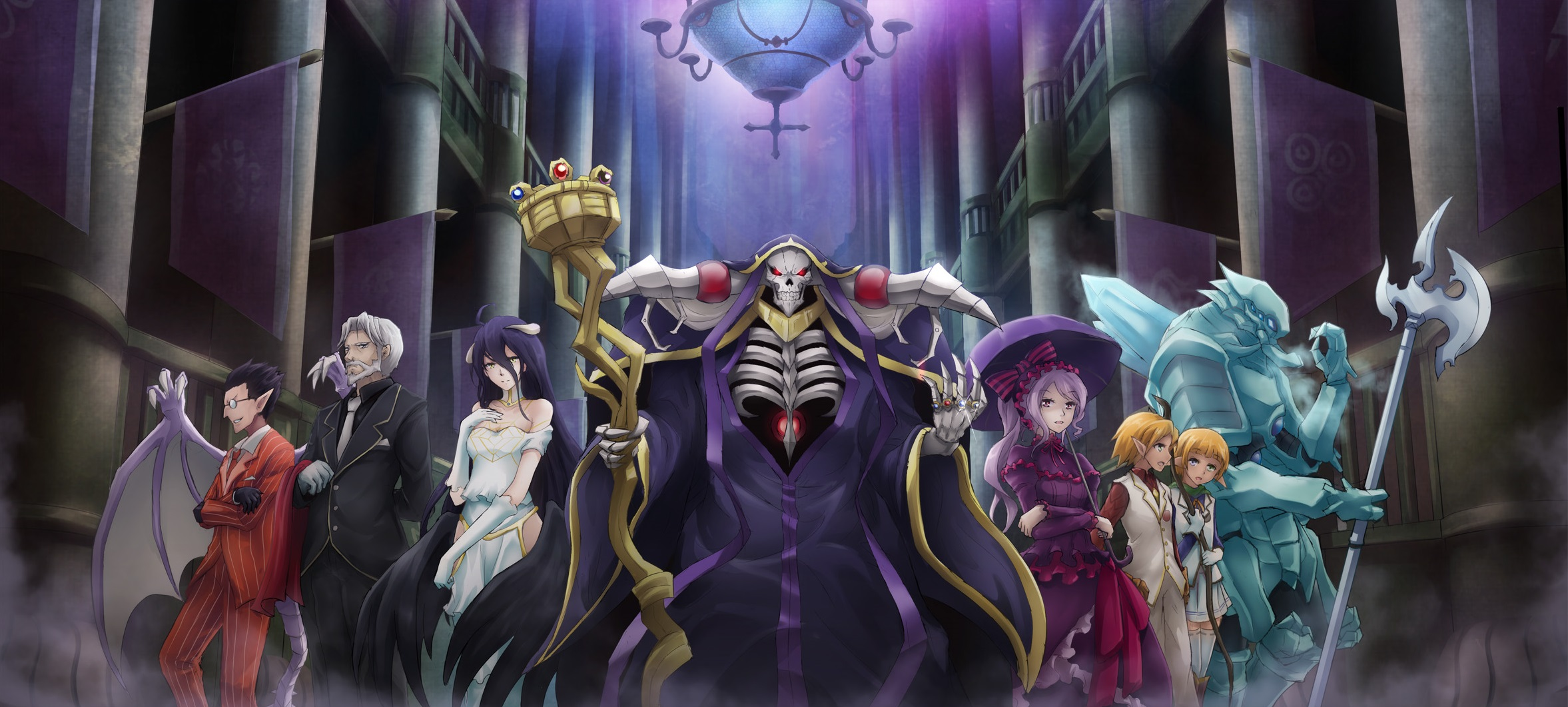 273 Overlord Hd Wallpapers Background Images Wallpaper Abyss