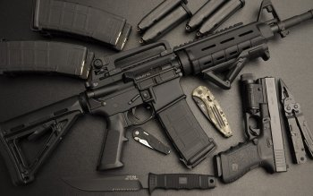 Ammunition, Ar-15, Armor, Bullet-proof Vest, Rifle, Rifle, Weapons ...
