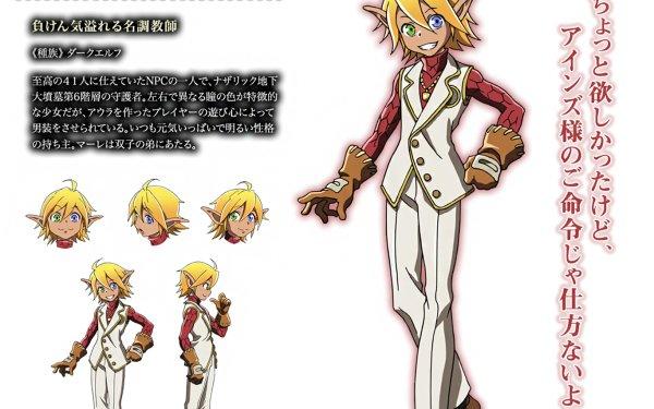 Anime Overlord Aura Bella Fiora HD Wallpaper | Background Image