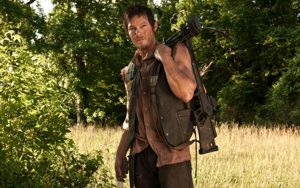 TV Show The Walking Dead Crossbow Daryl Dixon Norman Reedus HD Wallpaper | Background Image