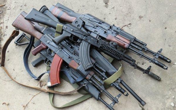 Weapons AK-47 HD Wallpaper   Background Image
