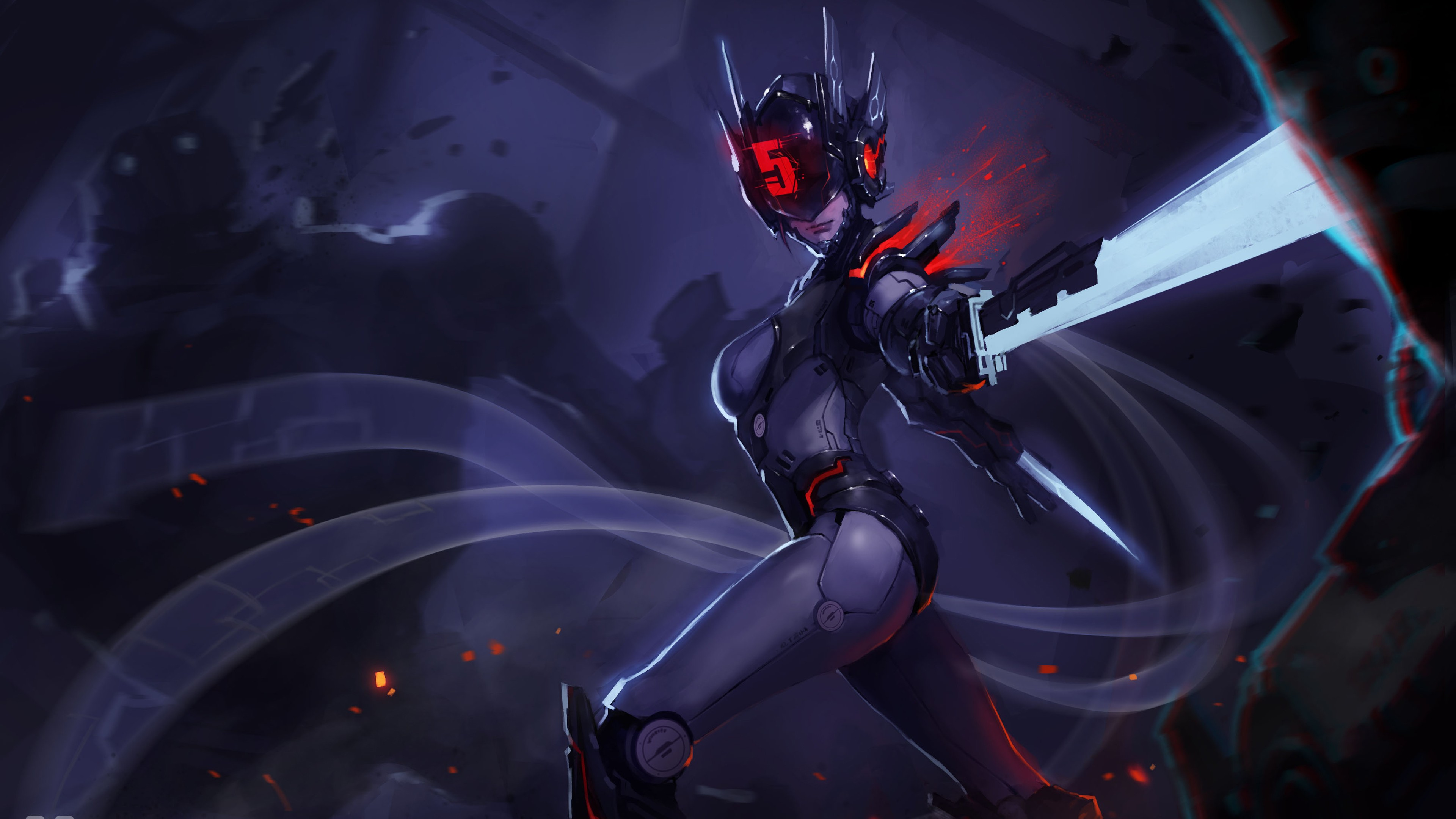 PROJECT Fiora 4k Ultra HD Wallpaper And Background Image
