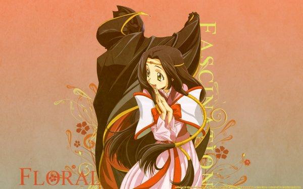 Anime Code Geass Kaguya Sumeragi Lelouch Lamperouge HD Wallpaper | Background Image