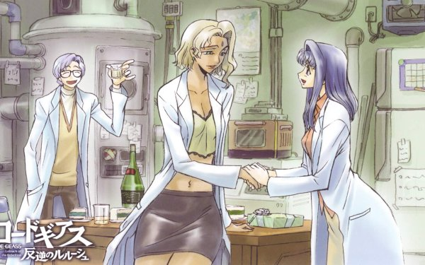 Anime Code Geass Lloyd Asplund Nina Einstein HD Wallpaper | Background Image