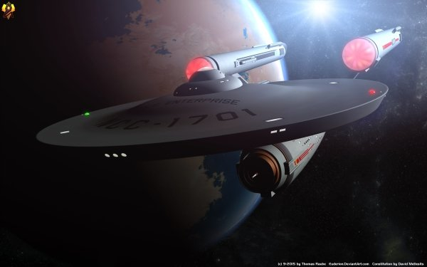TV Show Star Trek: The Original Series Star Trek Enterprise HD Wallpaper | Background Image