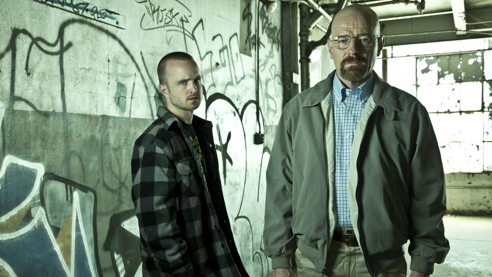 Séries TV - Breaking Bad Aaron Paul Jesse Pinkman Walter White Bryan ...