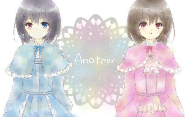 Anime Another Mei Misaki Misaki Fujioka Heterochromia HD Wallpaper   Background Image