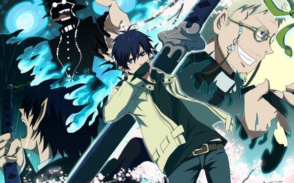 Anime Blue Exorcist Ao No Exorcist Rin Okumura Shiro Fujimoto HD Wallpaper | Background Image