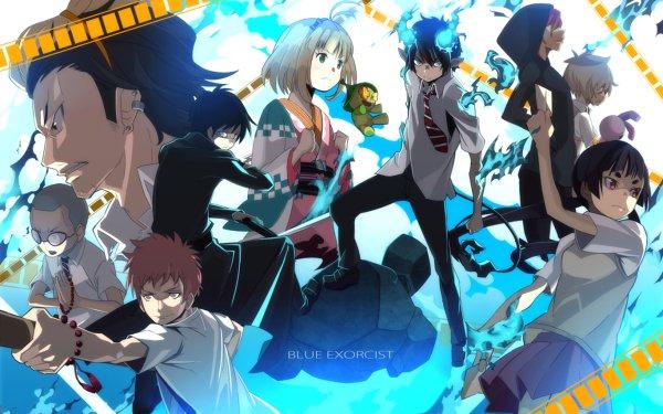 Anime Blue Exorcist Ao No Exorcist Nemu Takara Izumo Kamiki Konekomaru Miwa Renzo Shima Ryuji Suguro Shiemi Moriyama Rin Okumura HD Wallpaper | Background Image