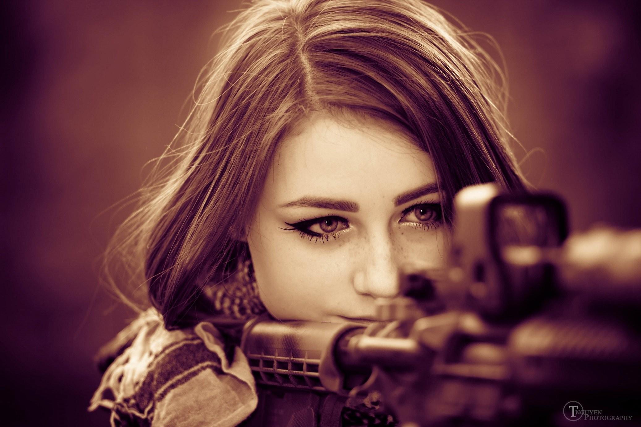 99 Chicas Armas Fondos De Pantalla Hd Fondos De