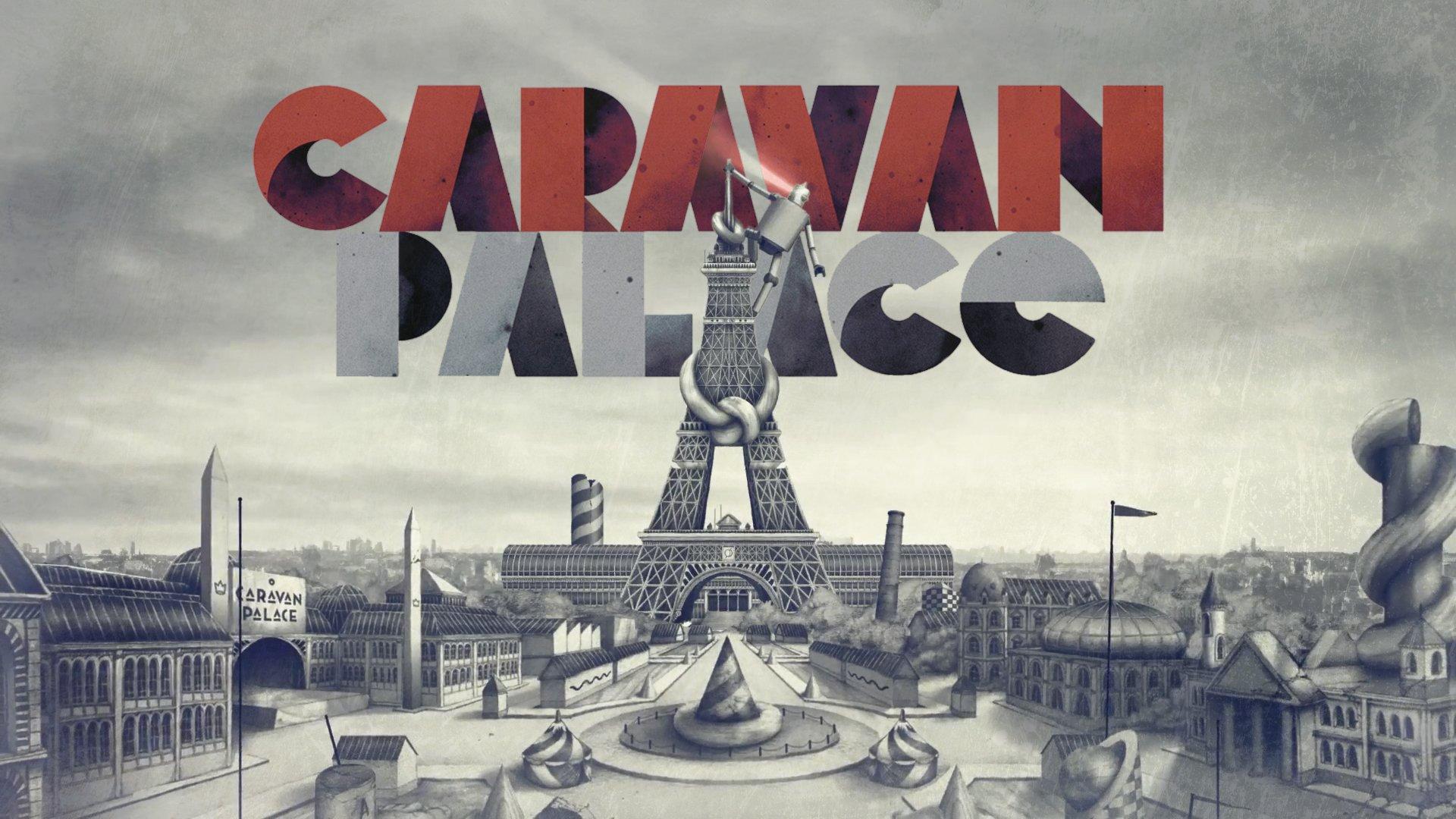 Caravan Palace Fondo De Pantalla Hd Fondo De Escritorio