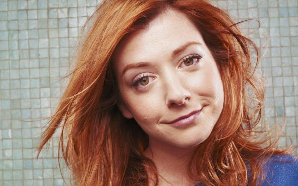 Celebrity Alyson Hannigan Actresses United States HD Wallpaper | Background Image