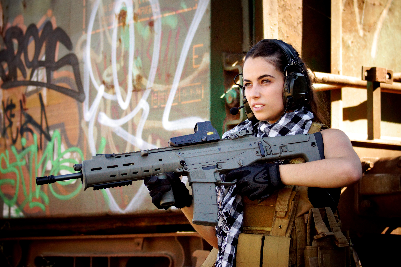 gun girl computer wallpapers - photo #27