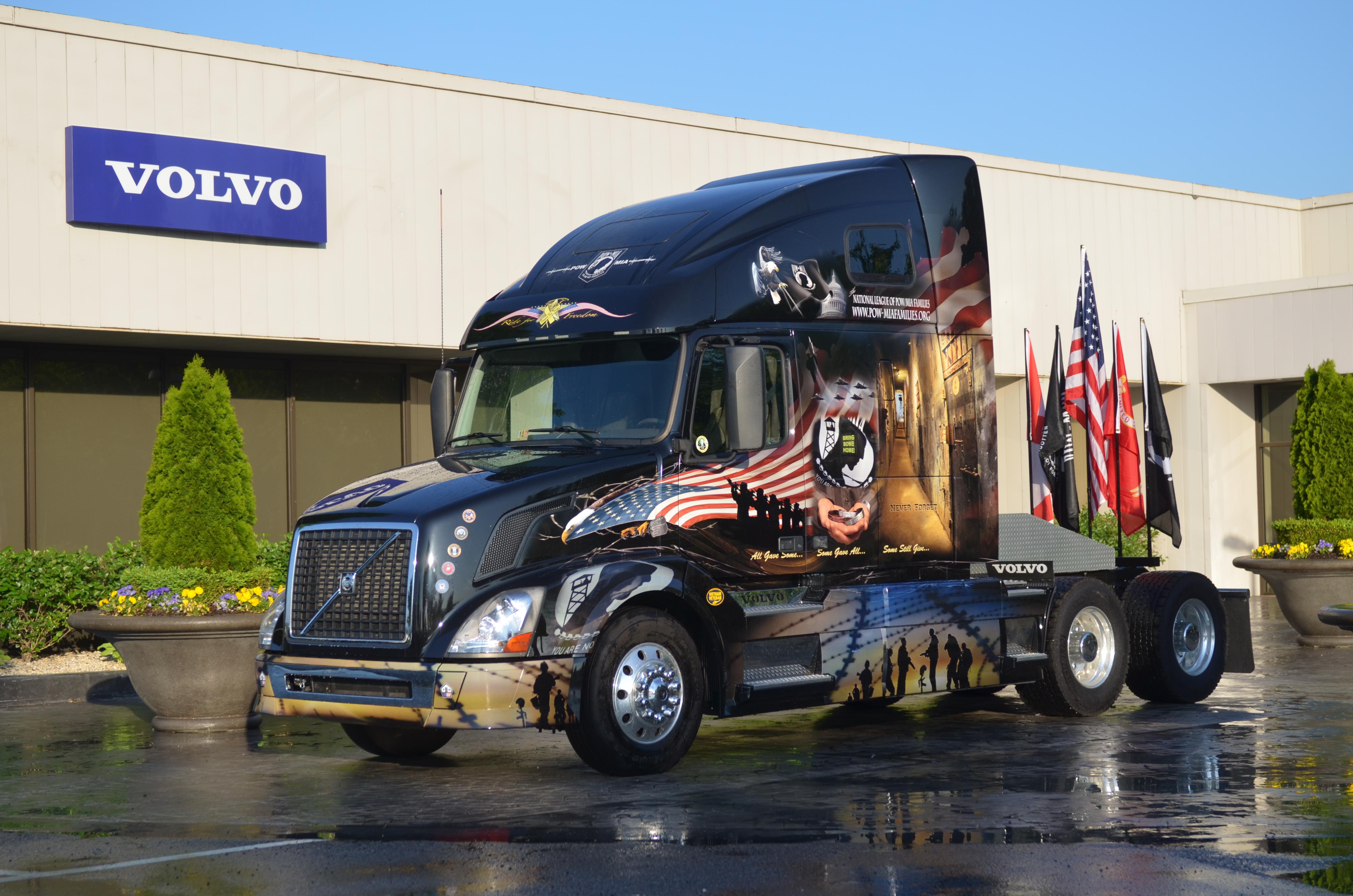 Custom Volvo Truck 4k Ultra HD Wallpaper And Background Image