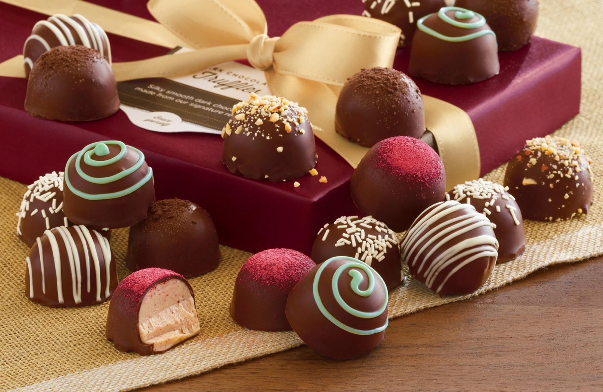 Fondos De Pantalla De Chocolates: Alimento Chocolate Fondo De Pantalla