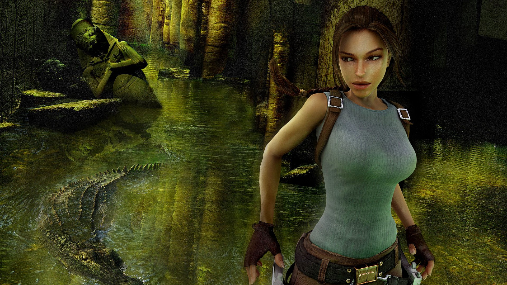 Tomb Raider Anniversary HD Wallpaper