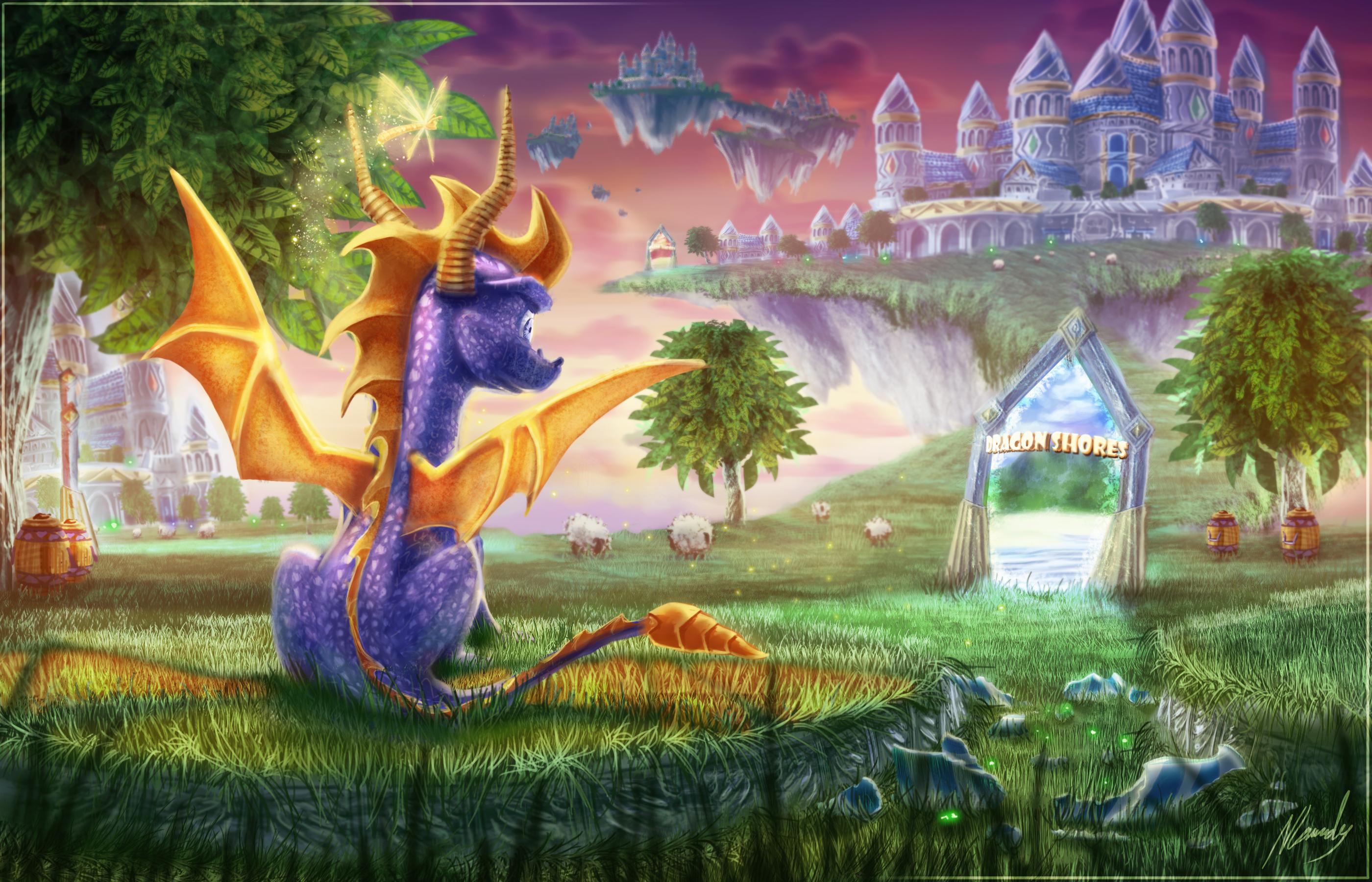 72 Spyro The Dragon HD Wallpapers