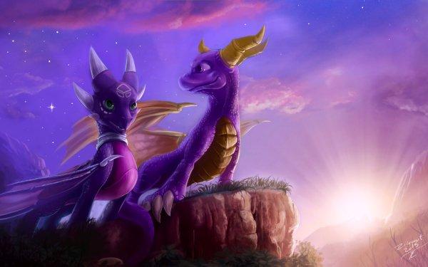 Video Game The Legend of Spyro: Dawn of the Dragon Spyro Cynder Dragon HD Wallpaper | Background Image
