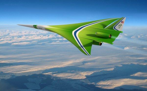 Vehicles Concept Car NASA Aircraft Lockheed Martin Super Sonic HD Wallpaper | Background Image