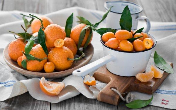 Food Orange Fruits Mandarin Fruit HD Wallpaper | Background Image