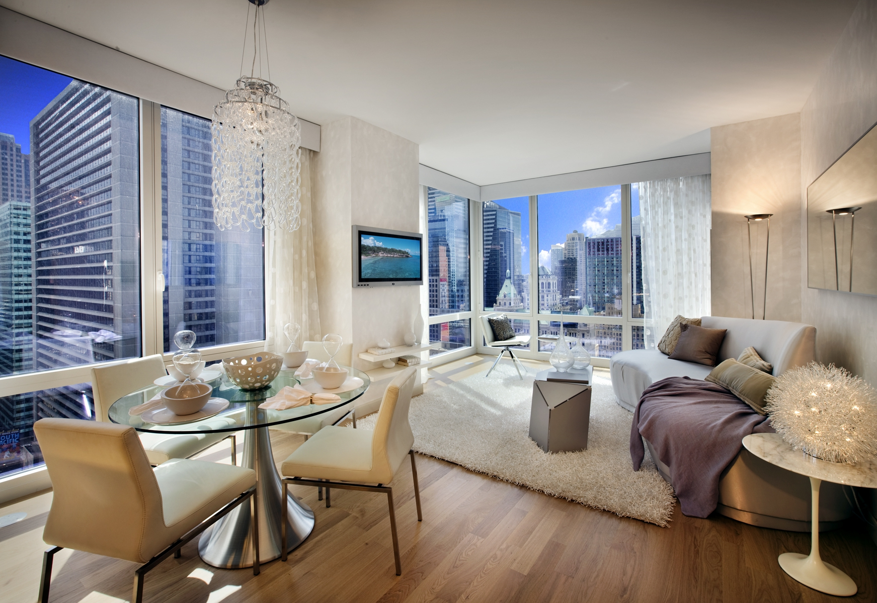 Modern New York City Apartment Wallpaper and Background ...