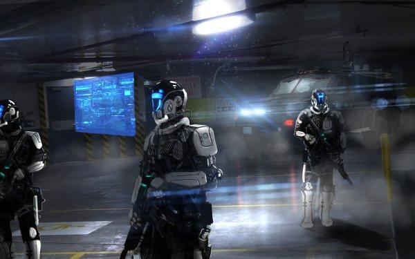 Sci Fi Robot HD Wallpaper   Background Image