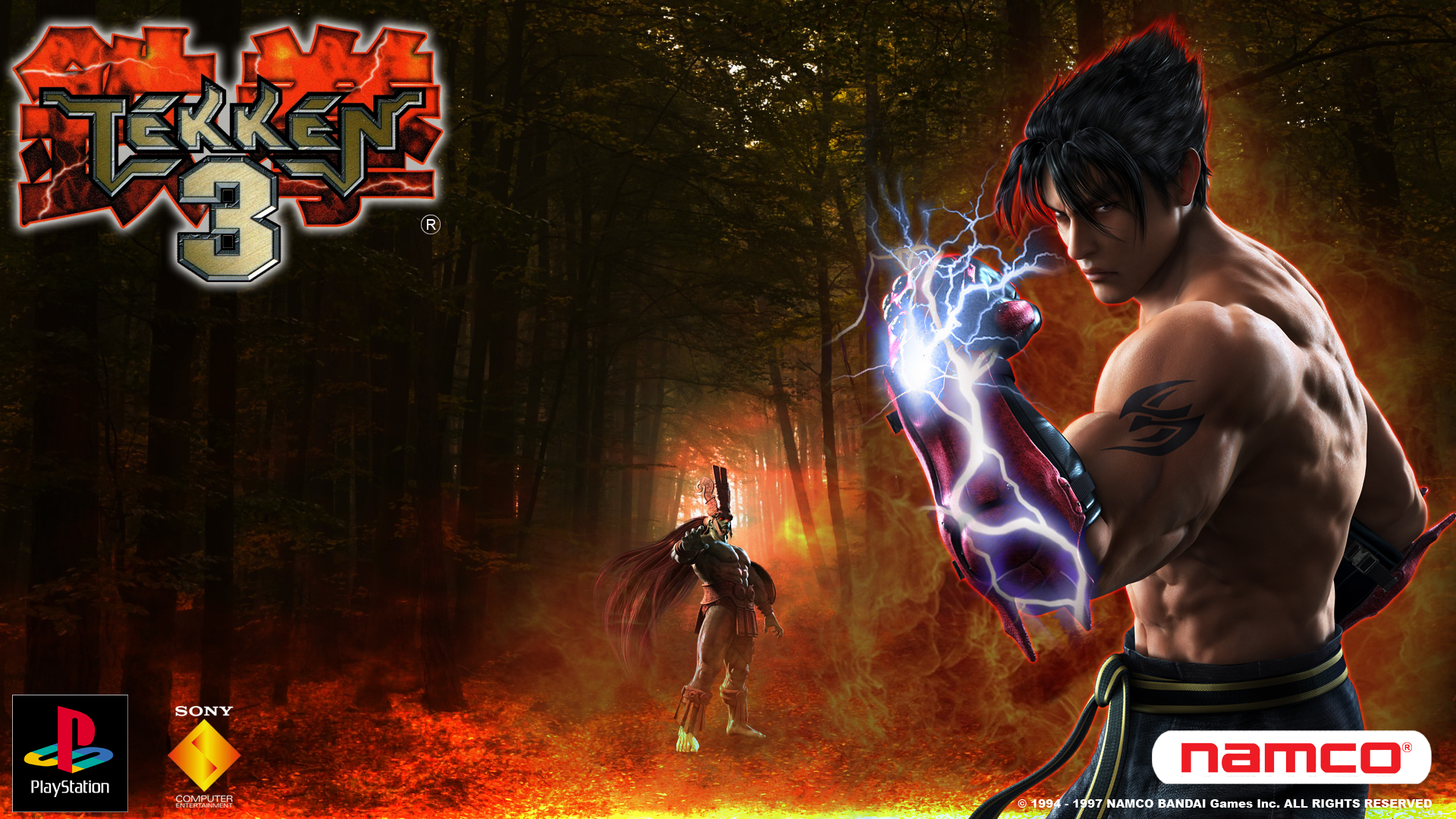 tekken 3 full hd wallpaper and background image