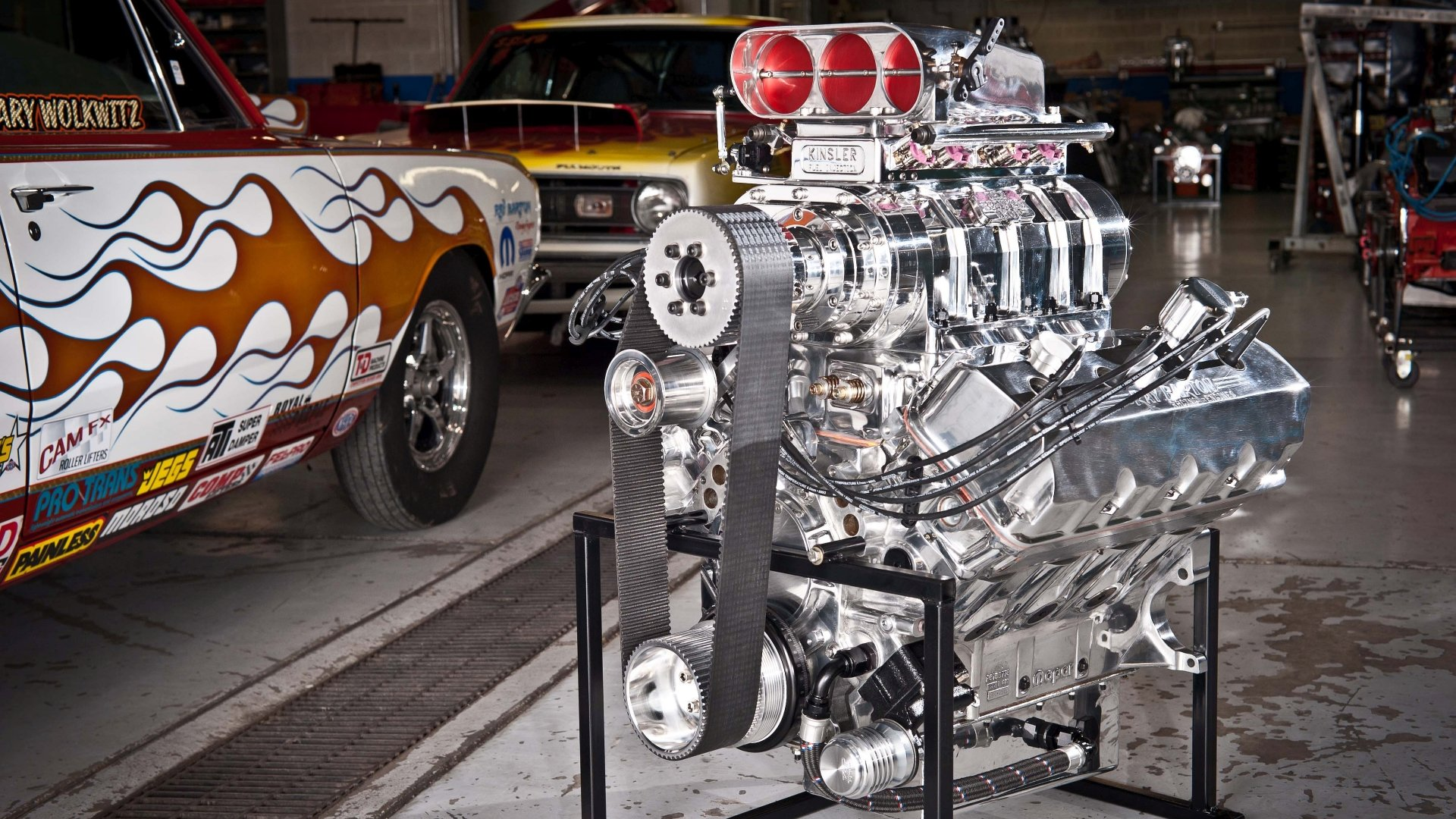 Man Made - Engine  Wallpaper