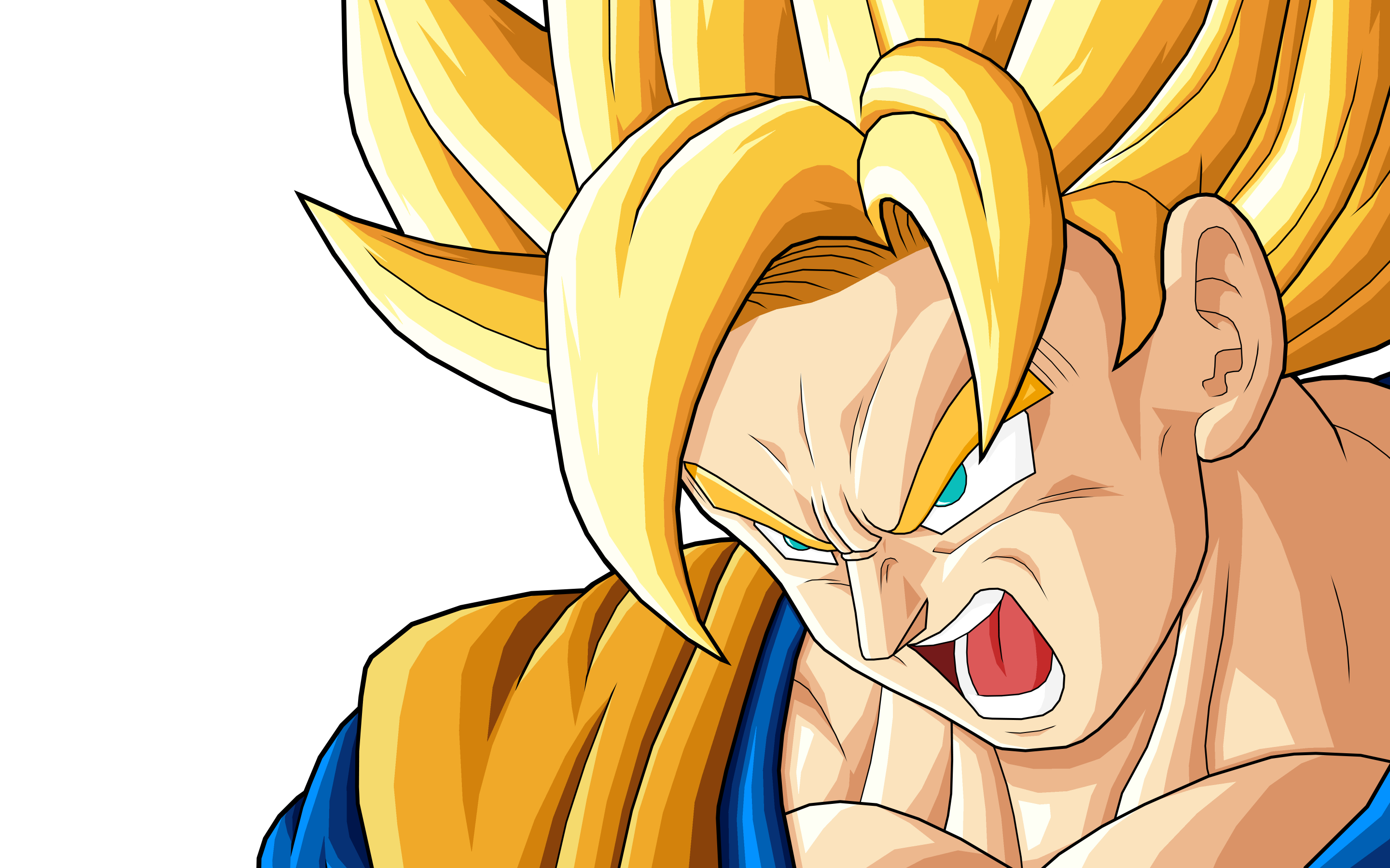 Goku SSJ Full HD Wallpaper And Background Image